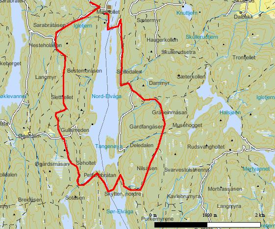 kart over østmarka Stivalg Østmarka kart over østmarka